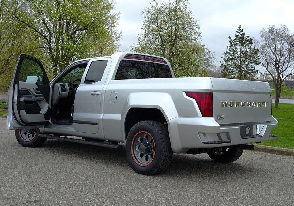 Workhorse W 15 Electric Truck Goes 0 To 60 In 5 5 Seconds