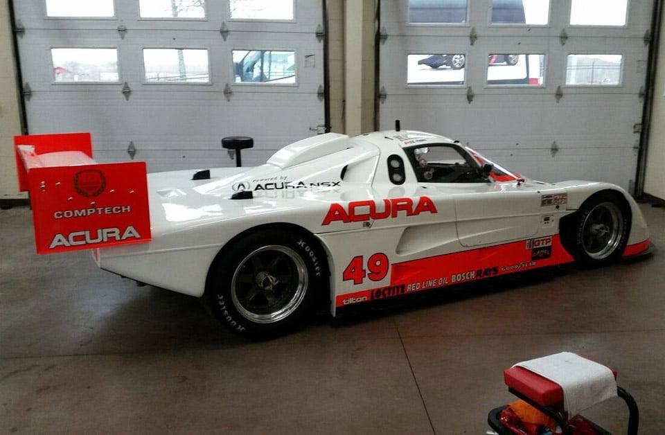 Acura NSX-based GTP Race Car for Sale for $350,000 - 95 Octane