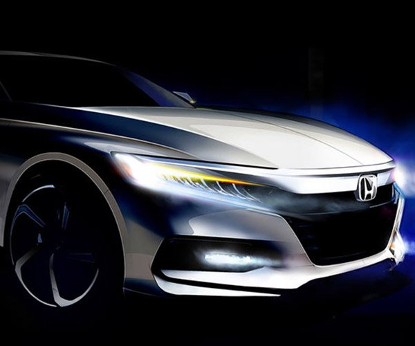 Honda Teases All-new 2018 Accord and It Doesn't Look Boring