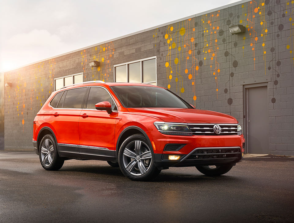 2018 Volkswagen Tiguan Gains Loads of Space