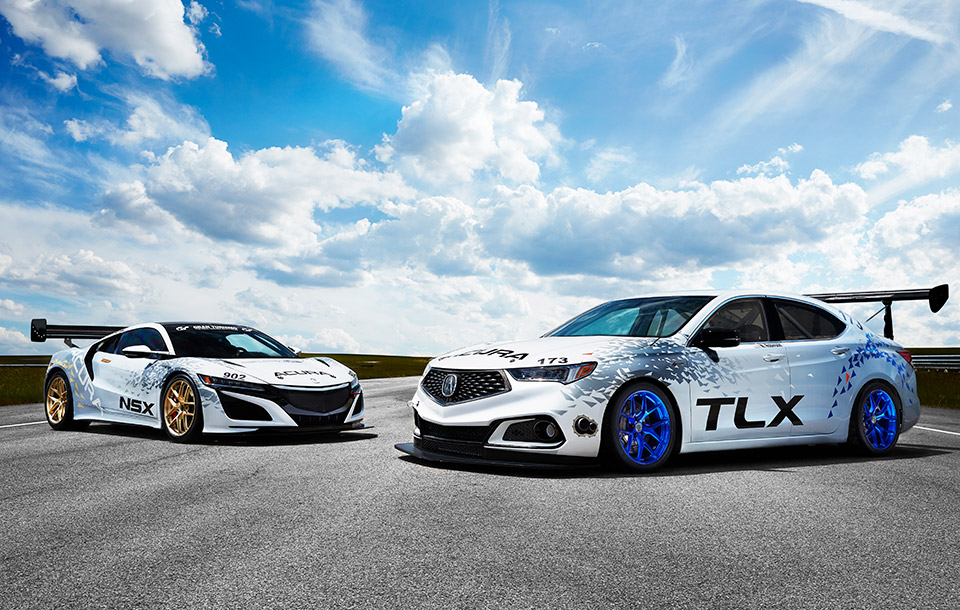 Acura to Race TLX and NSX up Pikes Peak