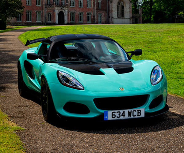 Lotus Elise Cup 250 Looks Minty Fresh in Green