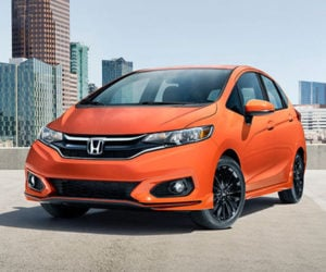 The 2018 Honda Fit Sport is a Cool Budget Car