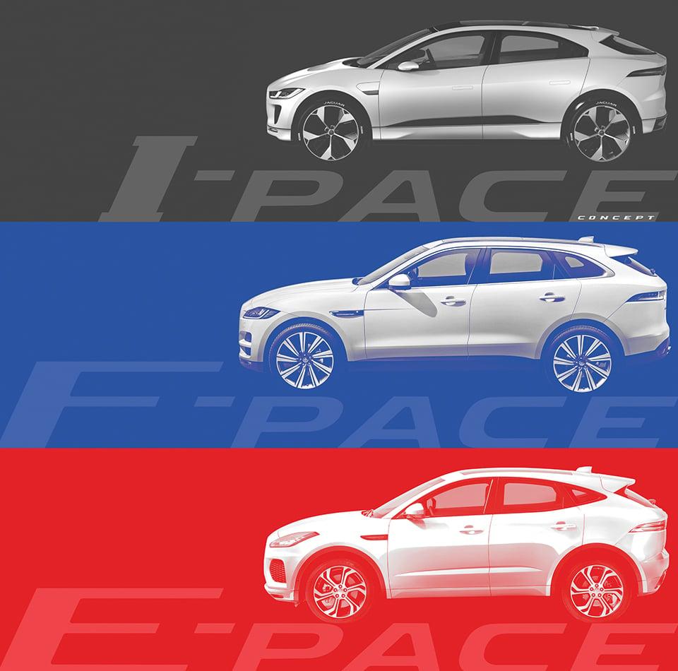 Jaguar E-Pace Compact SUV Teased for 2018 Launch