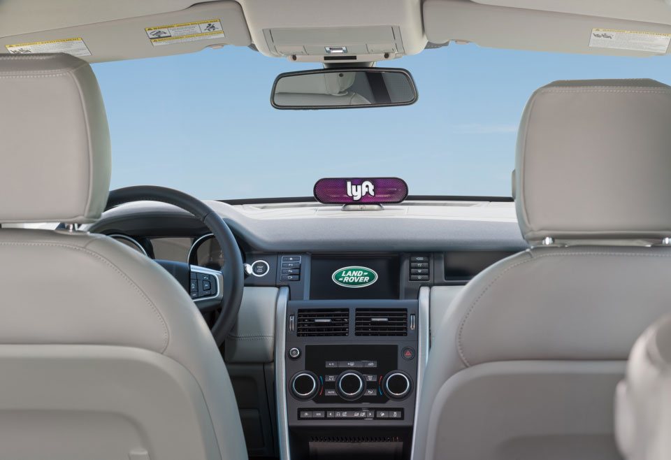 Jaguar Land Rover and InMotion Invest $25M into Lyft