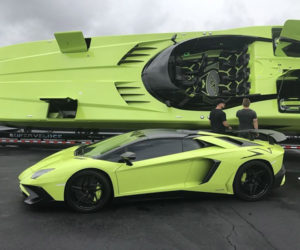 Lamborghini Aventador SV and Matching Lamboat for Sale