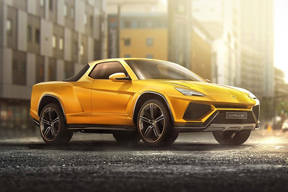 Luxury Cars Imagined As Pickup Trucks El Luxurio