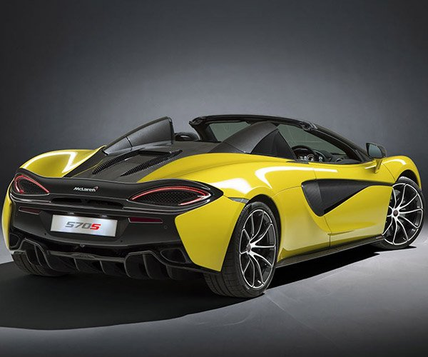 McLaren 570S Spider is Just as Fast as the Coupe