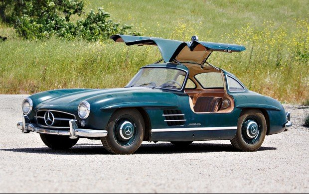 Unrestored Mercedes 300 Sl Gullwing And Roadster For Sale