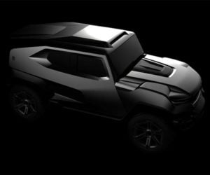 Rezvani SUV Is a Bulletproof Offroader