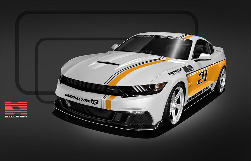 Saleen Championship Edition Mustangs for Street or Track