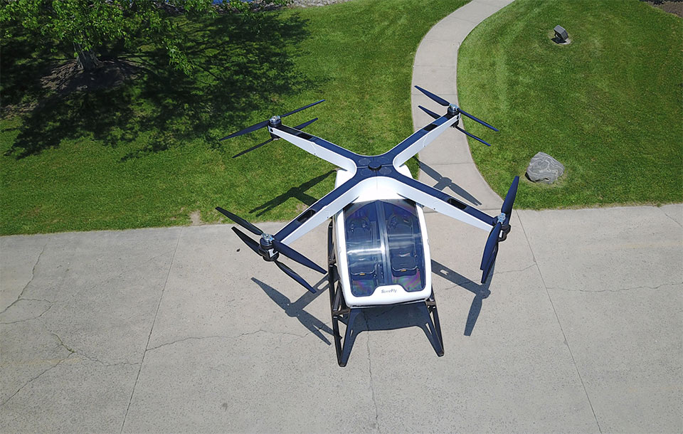 Workhorse SureFly is the Flying Transport of Your Dreams