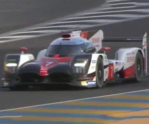 Toyota's LMP1 Racer Destroys Le Mans Lap Record