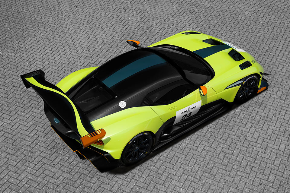 Aston Martin Vulcan AMR Pro The Green Meanie 95 Octane