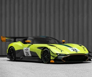Aston Martin Vulcan AMR Pro: The Green Meanie