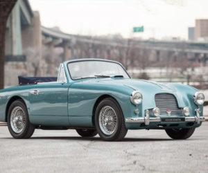Beautiful Blue 1955 Aston Martin DB2/4 Drophead for Sale