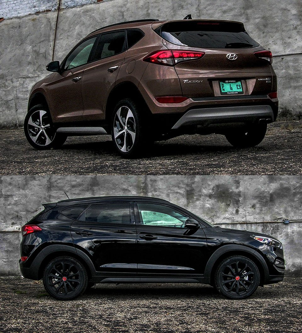 2017 hyundai tucson limited and night a tale of two crossovers 95 octane. Black Bedroom Furniture Sets. Home Design Ideas