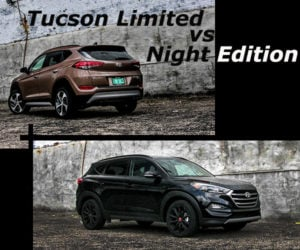 2017 Hyundai Tucson Limited and Night: A Tale of Two Crossovers