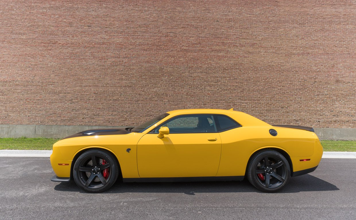 Yellow and black challenger