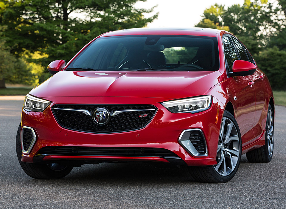 2017 Buick Regal Turbo >> All-new 2018 Buick Regal GS Looks Awesome, Packs 310 Horses