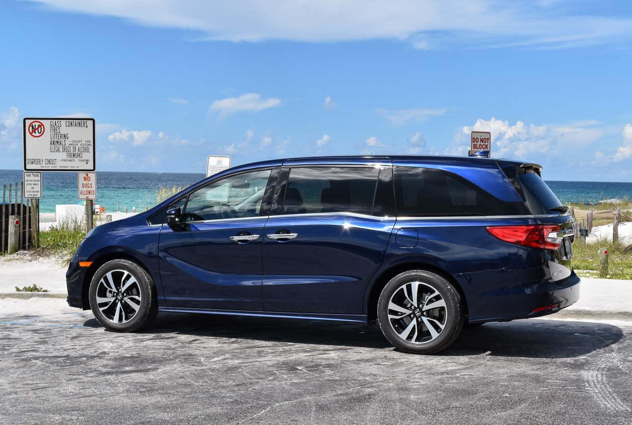 Our Family Adventure In The 2018 Honda Odyssey Elite 95