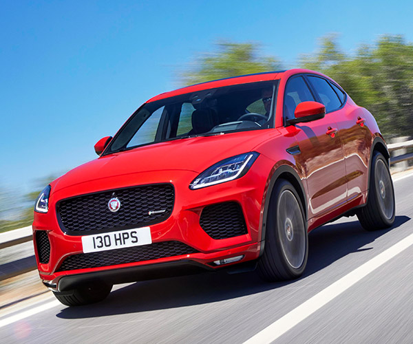 Jaguar E-PACE Compact SUV Is a Mini F-PACE