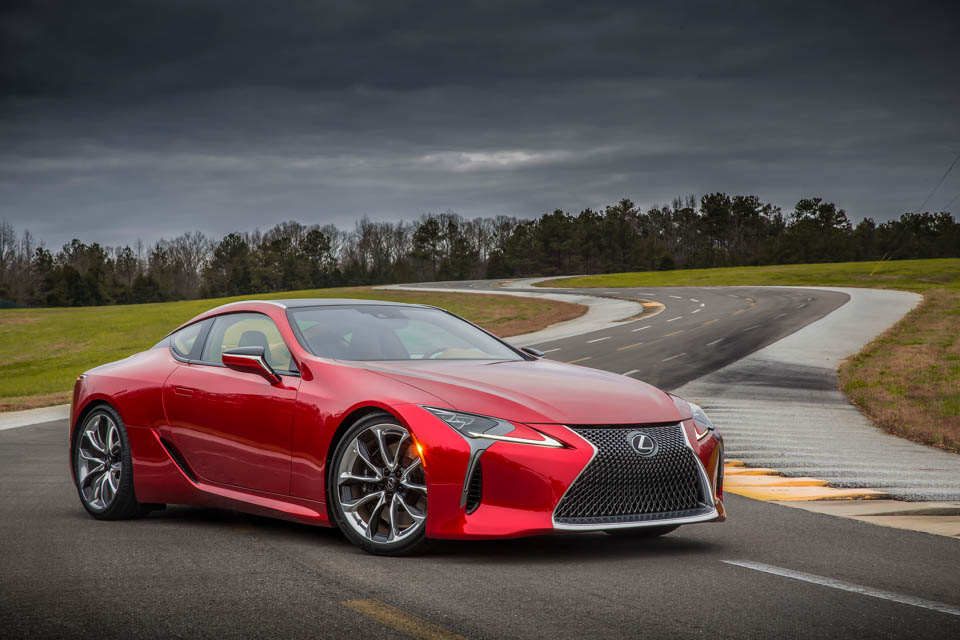 Lexus LC F May Be More Powerful than the LFA