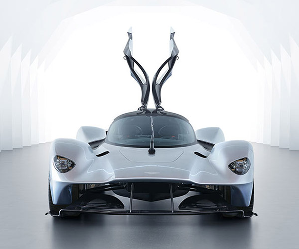 Aston Martin Valkyrie Rear: Aston Martin Vulcan Gets A Street-Legal Conversion