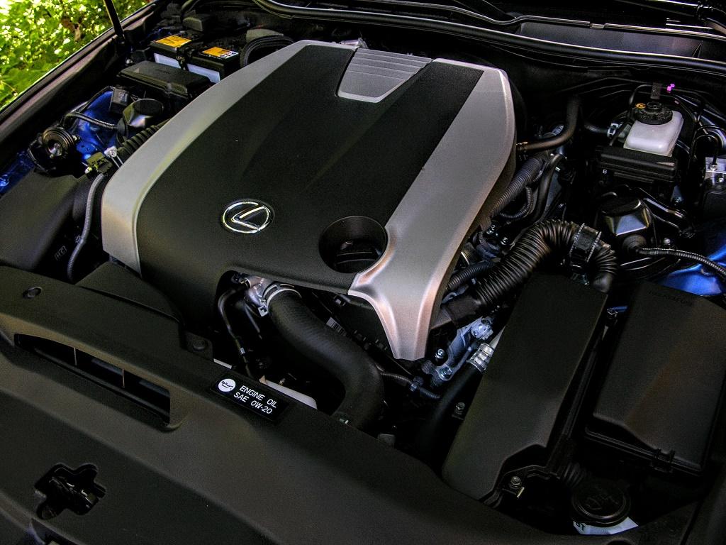 2017 lexus is350 f sport hp