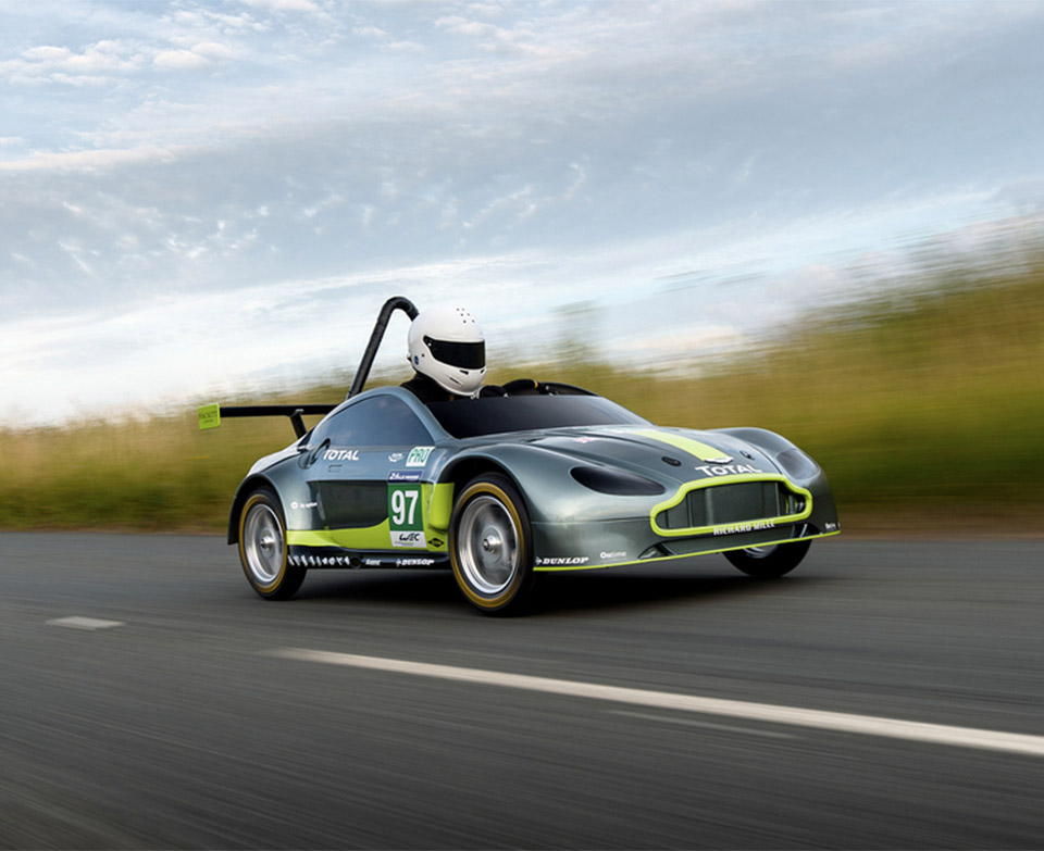 Aston Martin Makes the Ultimate Soapbox Derby Racer