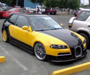 The Bugatti Civic Is Both Unholy and Awesome
