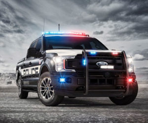 Ford F-150 Police Responder Is a Pursuit-rated Pickup Truck