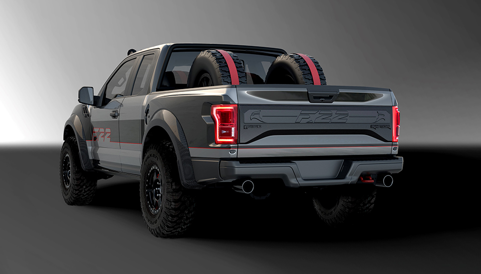 Custom Ford F 22 Raptor F 150 To Be Auctioned For Charity