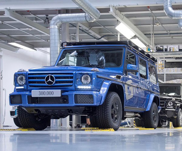 Mercedes Makes Its 300,000 G-Class