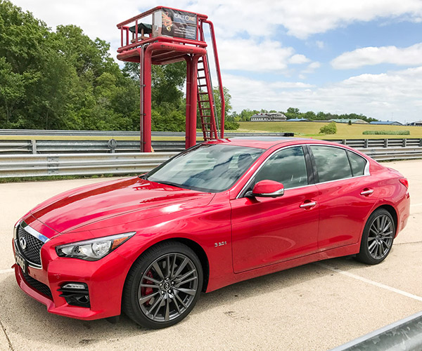 A Day at the Track with Infiniti