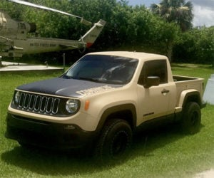 Jeep Renegade Turned into a Mini Comanche Pickup Truck