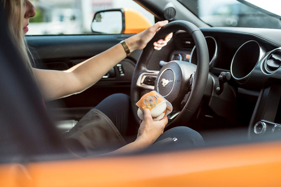 Orange Fury Mustang Inspires Ice Cream Flavor