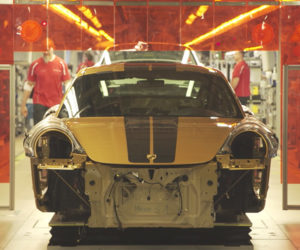 Watch Porsche Build the 911 Turbo S Exclusive Series