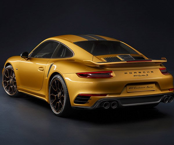 Porsche 911 Turbo S Exclusive Series: All That's Gold Does Not Glitter