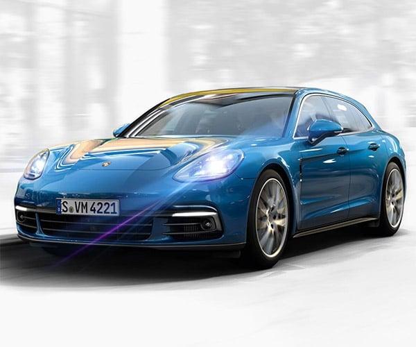 Porsche Panamera Sport Turismo Production Begins: WAGONS HO!