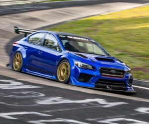 Subaru WRX STI Breaks 7-minutes on the Nürburgring