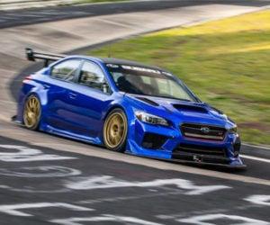 Subaru WRX STI Breaks 7-minutes on the Nürburgring