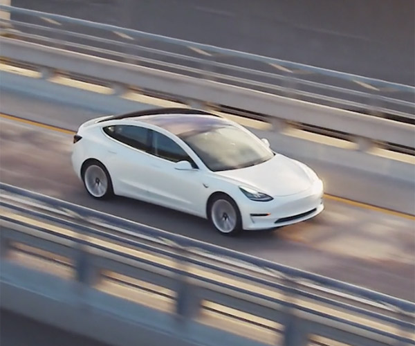 Tesla Delivers First Handful of Model 3 EVs