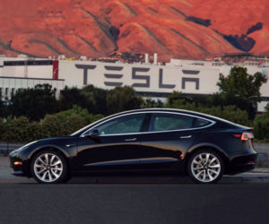 Elon Musk Offers Pics of First Production Tesla Model 3