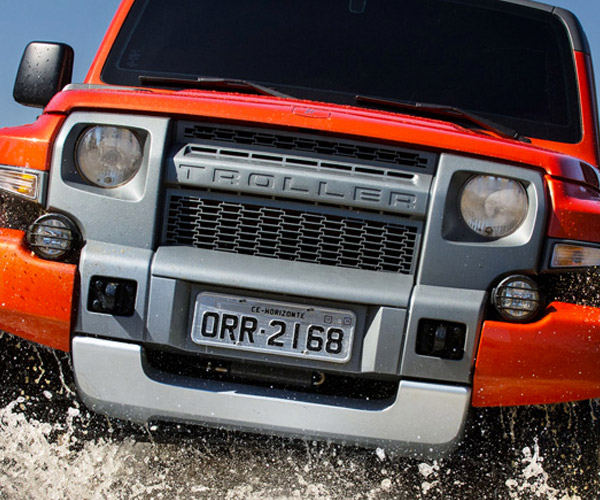 Ford Bronco to be Based on Brazilian Troller?