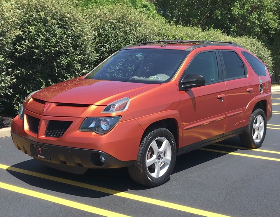Inside the Weird and Wonderful Pontiac Aztek ... & Inside the Weird and Wonderful Pontiac Aztek - 95 Octane