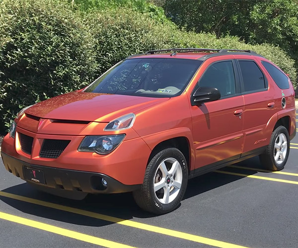 Inside the Weird and Wonderful Pontiac Aztek