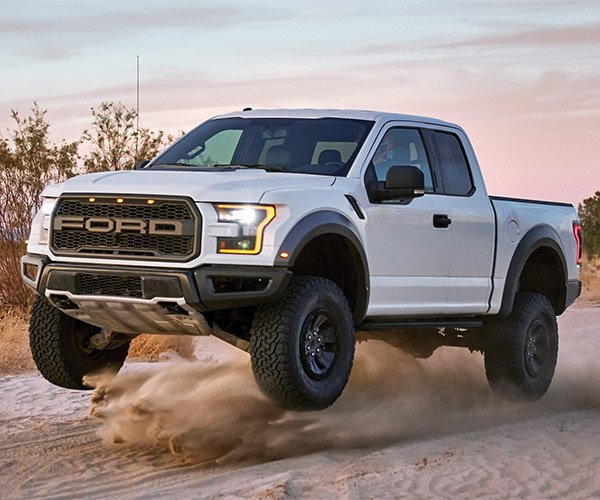 Get up Close and Personal with the Ford Raptor's Suspension