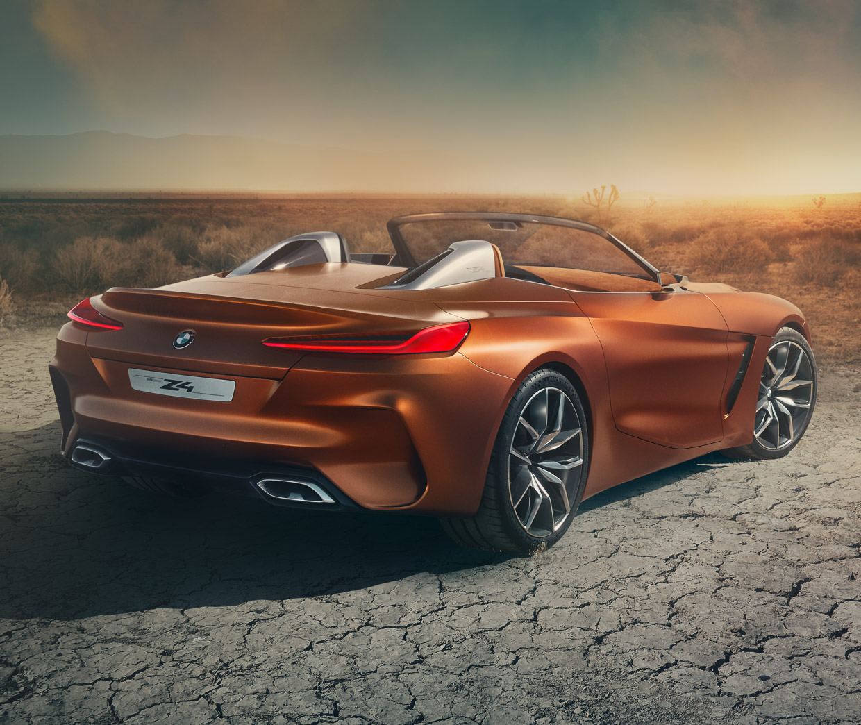 Bmw Z Coupe: BMW Concept Z4 Roadster Looks Incredible