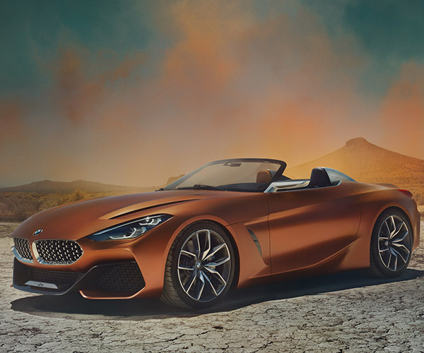 BMW Concept Z4 Roadster Looks Incredible